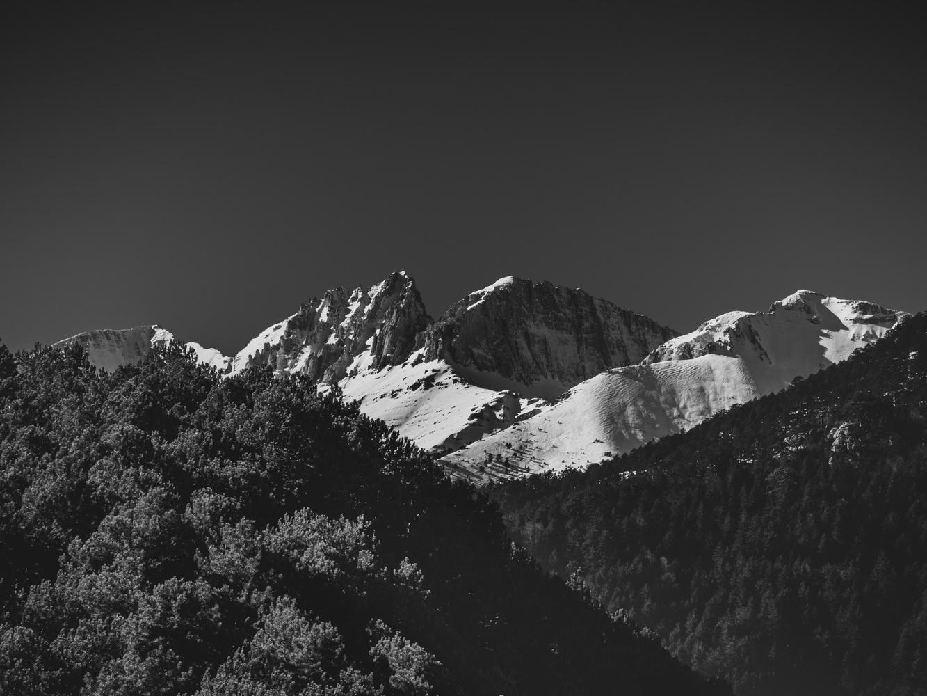 Olympus peak, Mytikas by Nestoras Kechagias