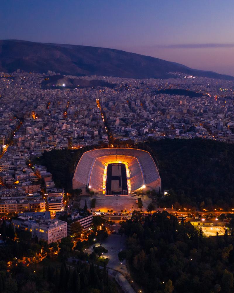 Panathenaic Stadium, Athens by Nestoras Kechagias