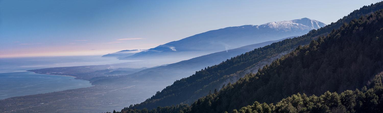 Olympus and Kissavos mountains by Nestoras Kechagias