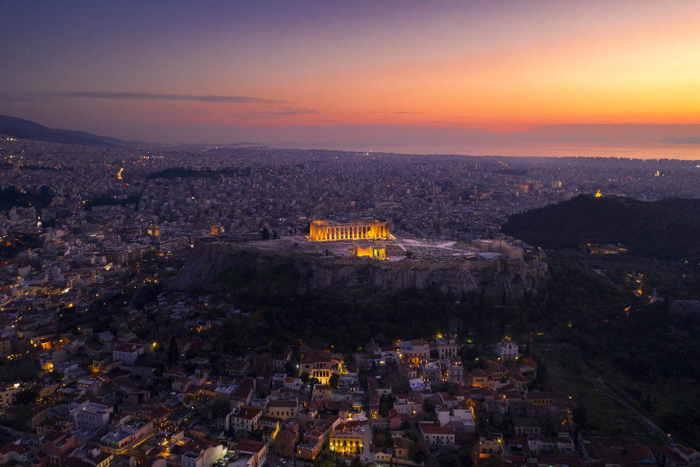 Acropolis Parthenon, Athens, Greece by Nestoras Kechagias