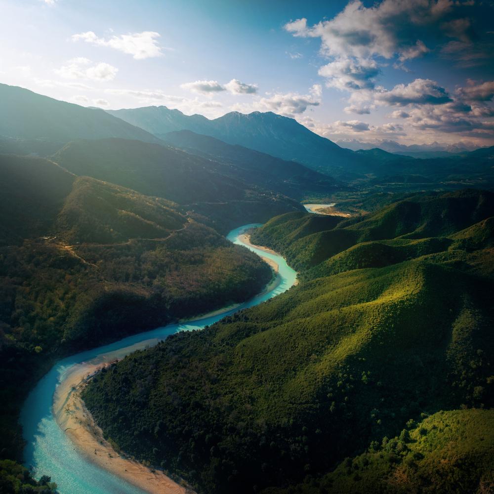Dreamland by Acheloos river by Nestoras Kechagias