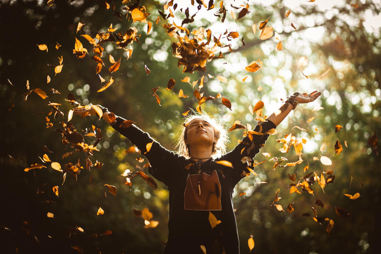 Autumn's joy by Mirel Holban