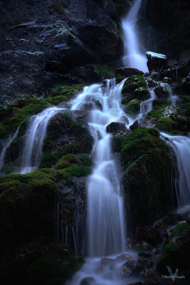 Romanian Waterfall by Mirel Holban