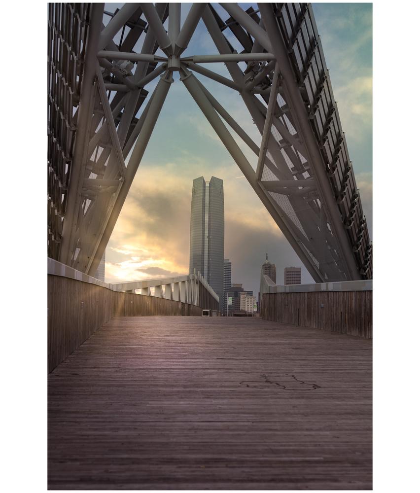Skydance Bridge by Christopher Scott