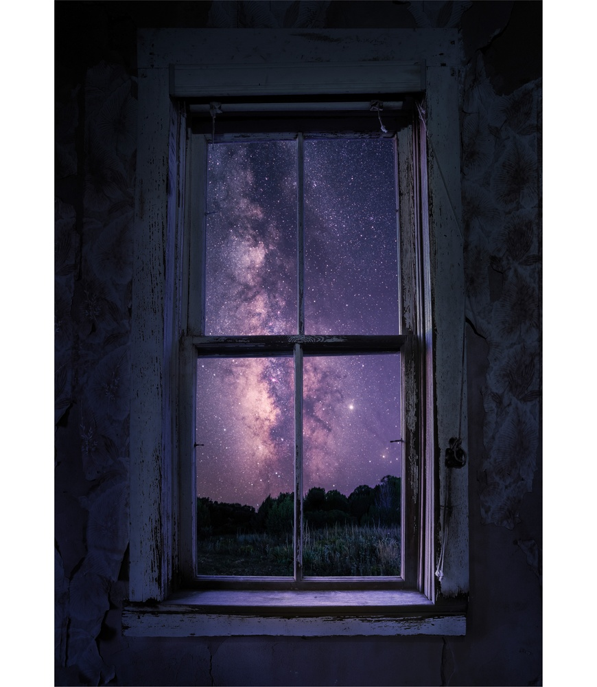 Window to the Galaxy by Christopher Scott
