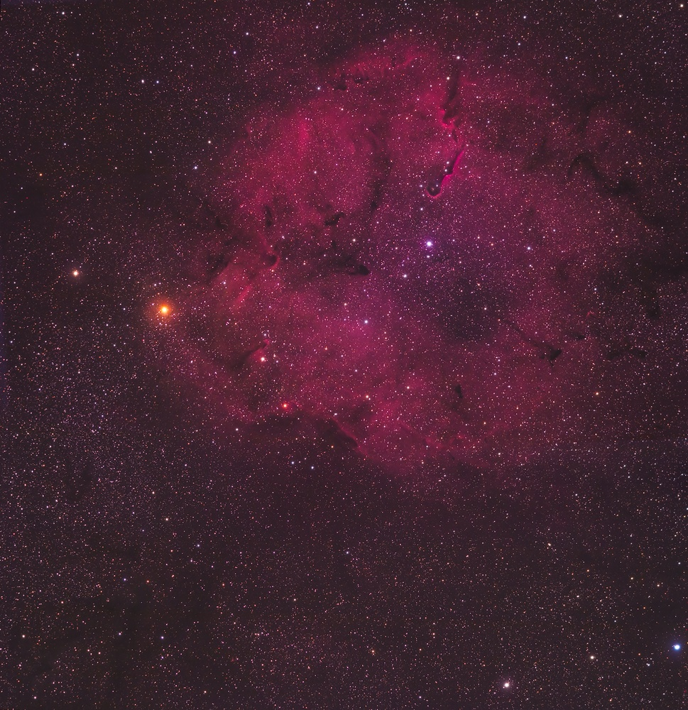 2 Panel Mosaic of IC1396 by Christopher Scott