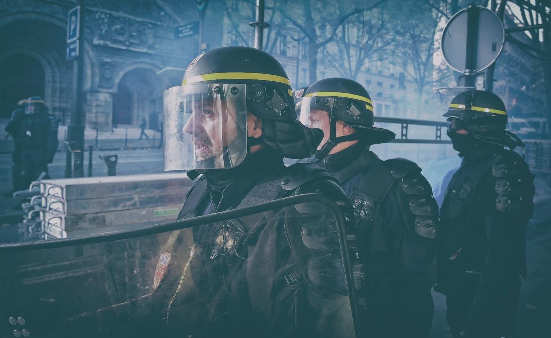French Police by Blass De Lima