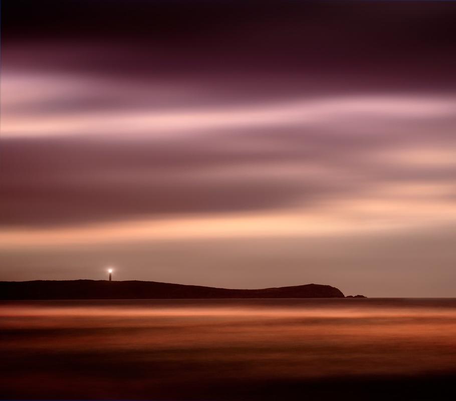 Orange sea by Ramon Vaquero