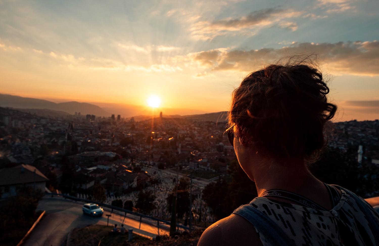 Sarajevo Date Night by Ian Barker