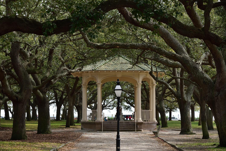 Battery Park, Charleston, SC by Michael O