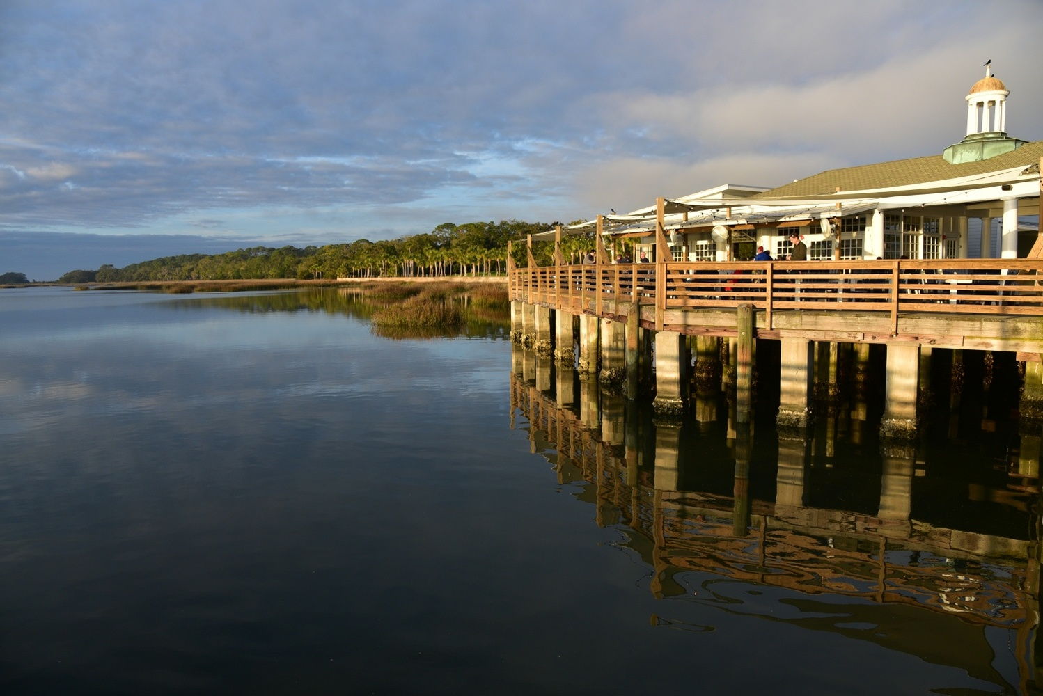 Jekyll Island Diner by Michael O