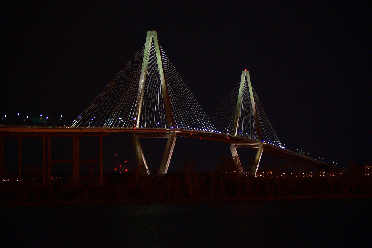Charleston Harbor Bridge by Michael O
