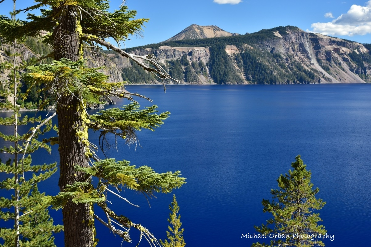 Crater Lake National Park by Michael O