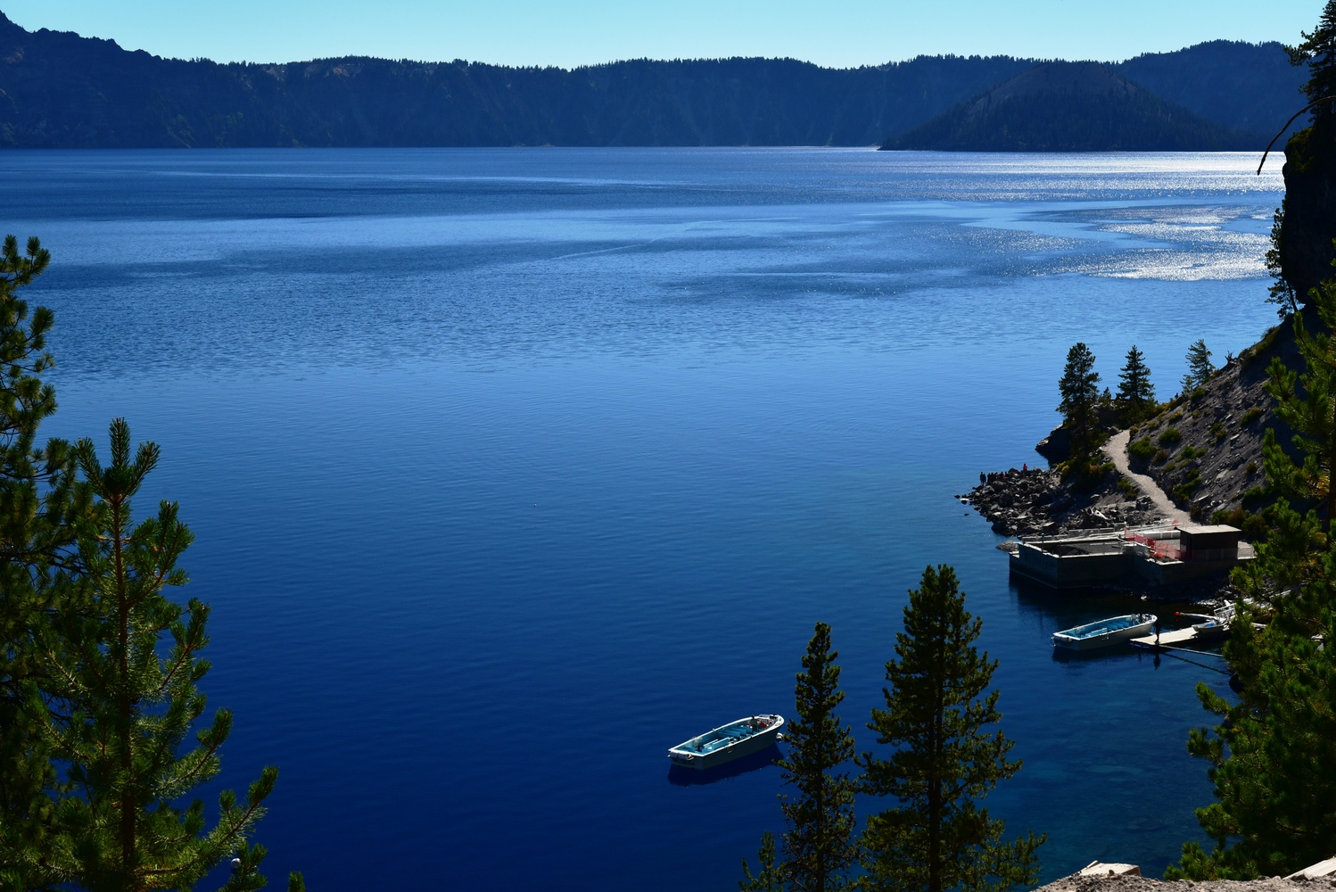 Crater Lake by Michael O