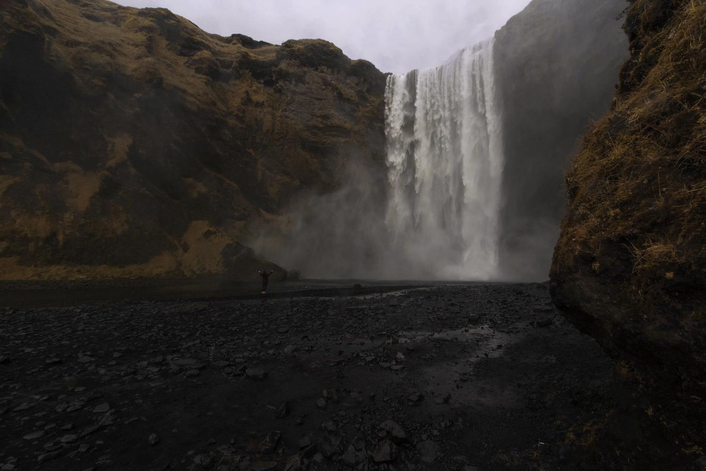 Skogafoss Waterfall, Iceland by Calli Minor