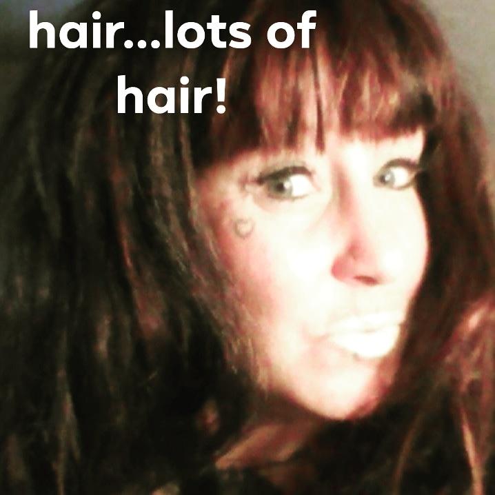 Hair...Lots of Hair! by Sandy Sinn