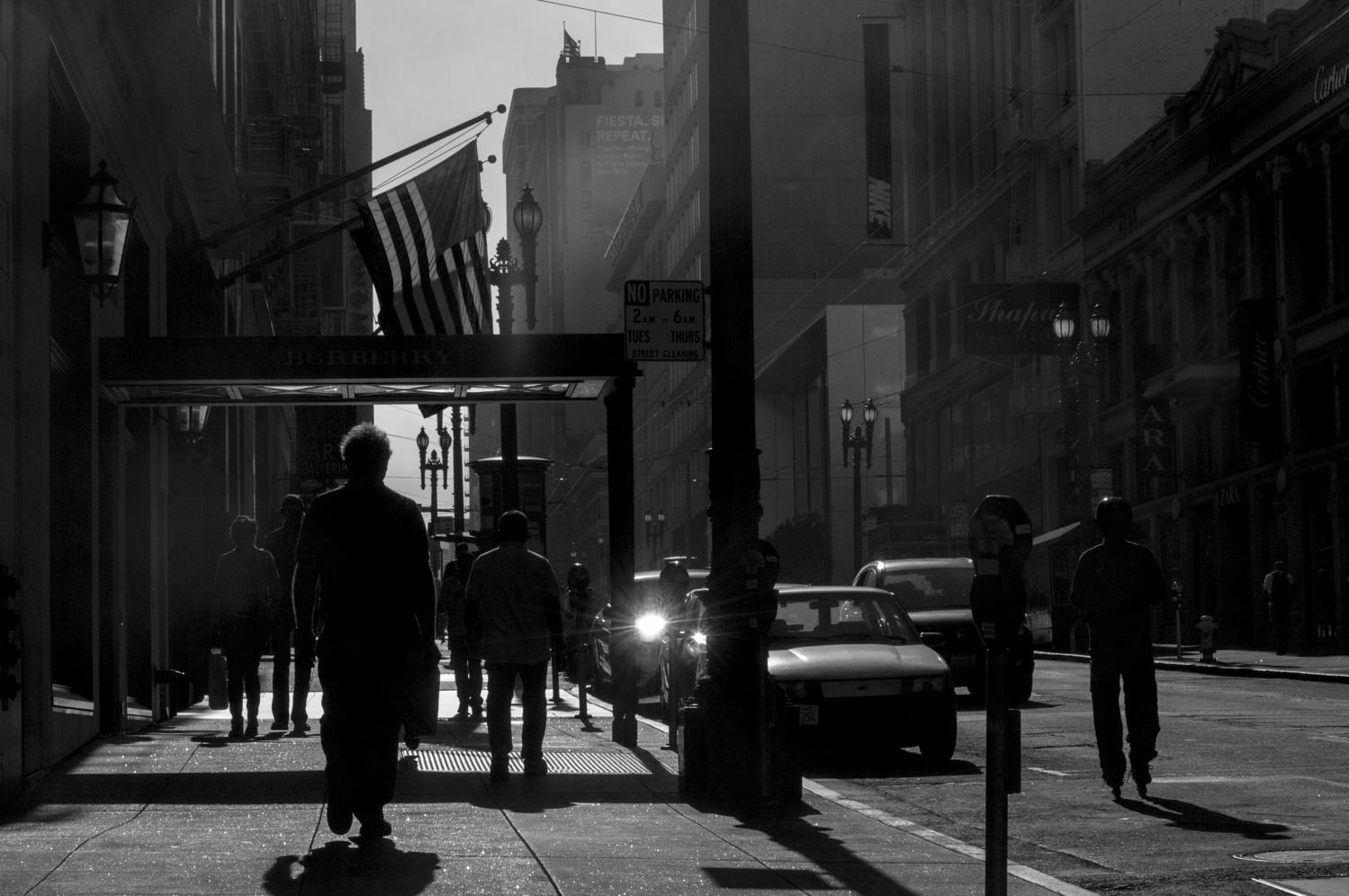 San Francisco Silhouette by Avram Silberztein