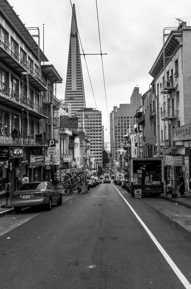Clay street San Francisco by Avram Silberztein