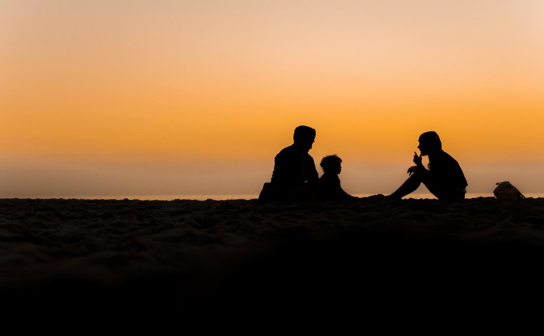 Sunset in San Diego by Avram Silberztein