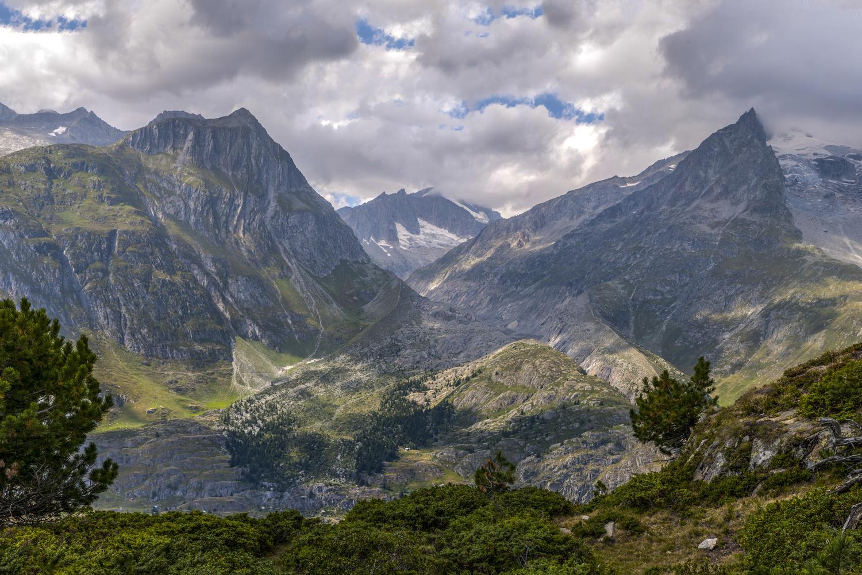 Swiss Alps, Geisshorn and Gross Fusshorn by Avram Silberztein