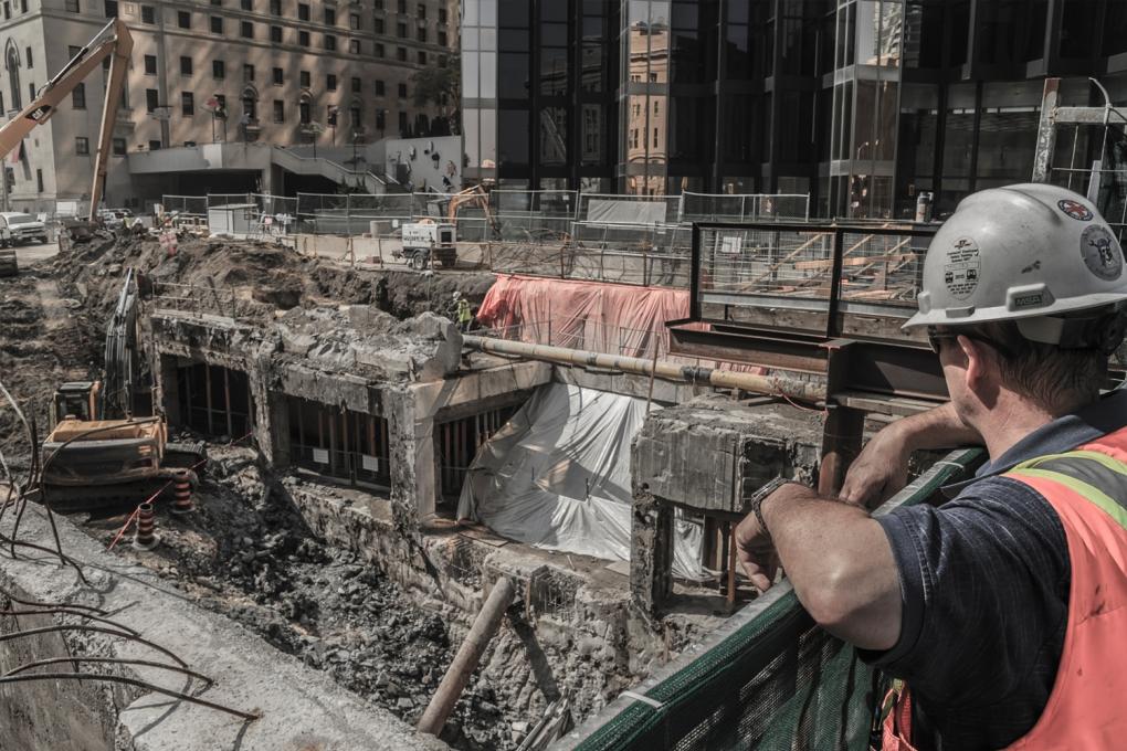 Toronto - Union Construction by Alex Chiu