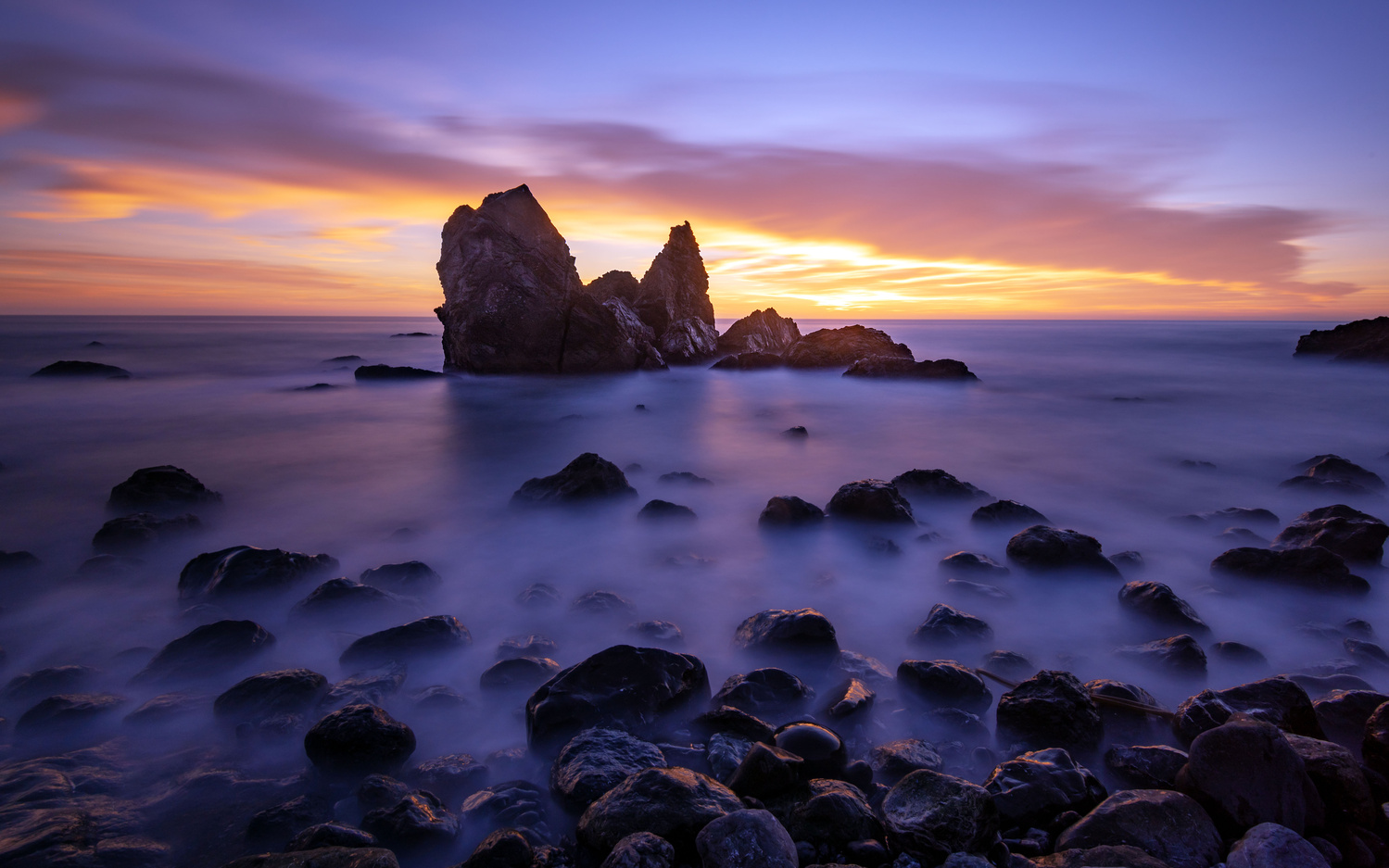 Muir Beach Twilight by Devon Wohlfahrt