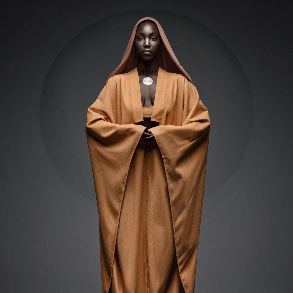 I meet god, she's black by stephane rouxel