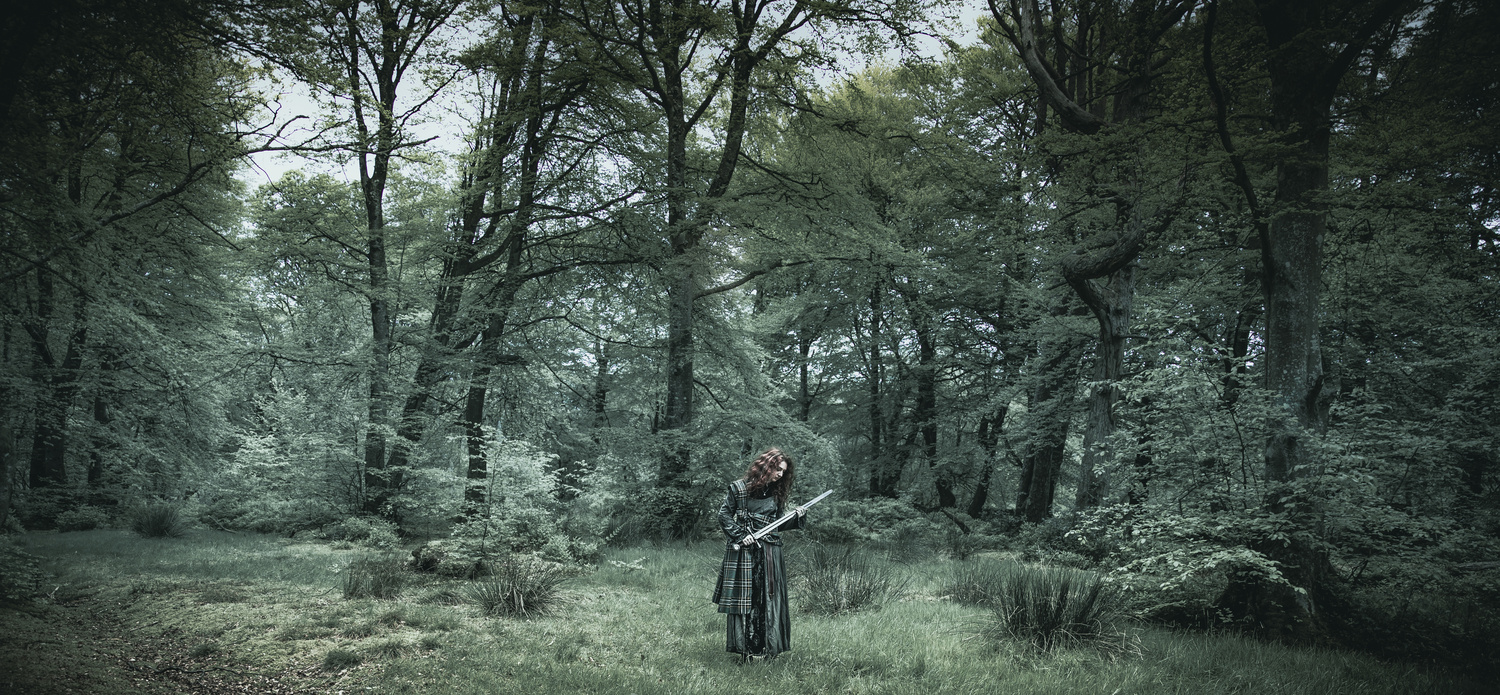 Forest maiden by COLIN GRAHAM