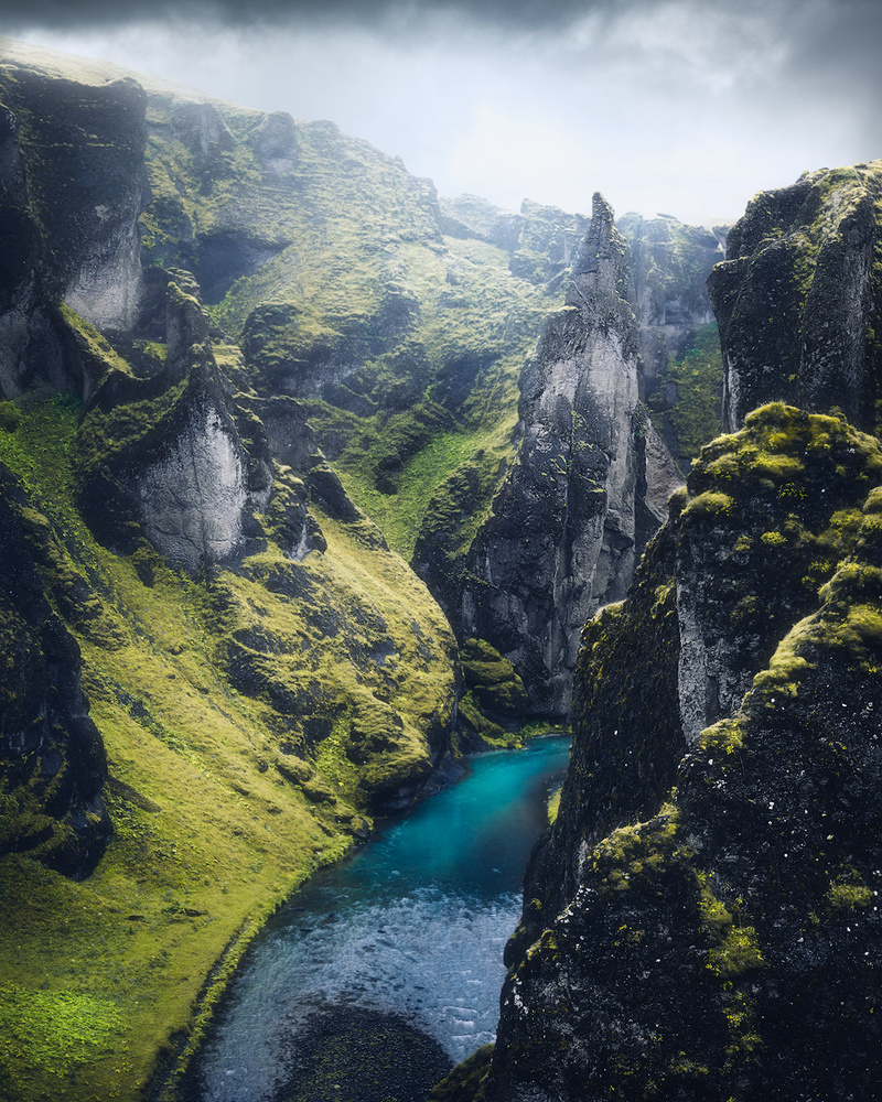 Fjaðrárgljúfur cayon by Fredrik Strømme