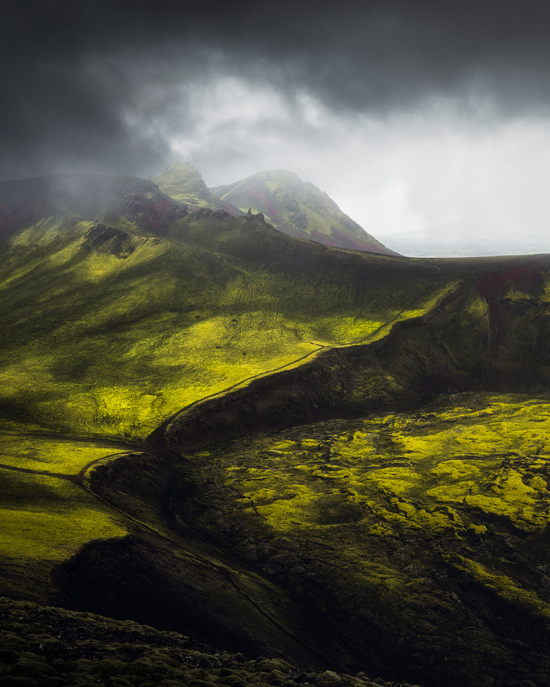 Moody Icelandic highlands by Fredrik Strømme