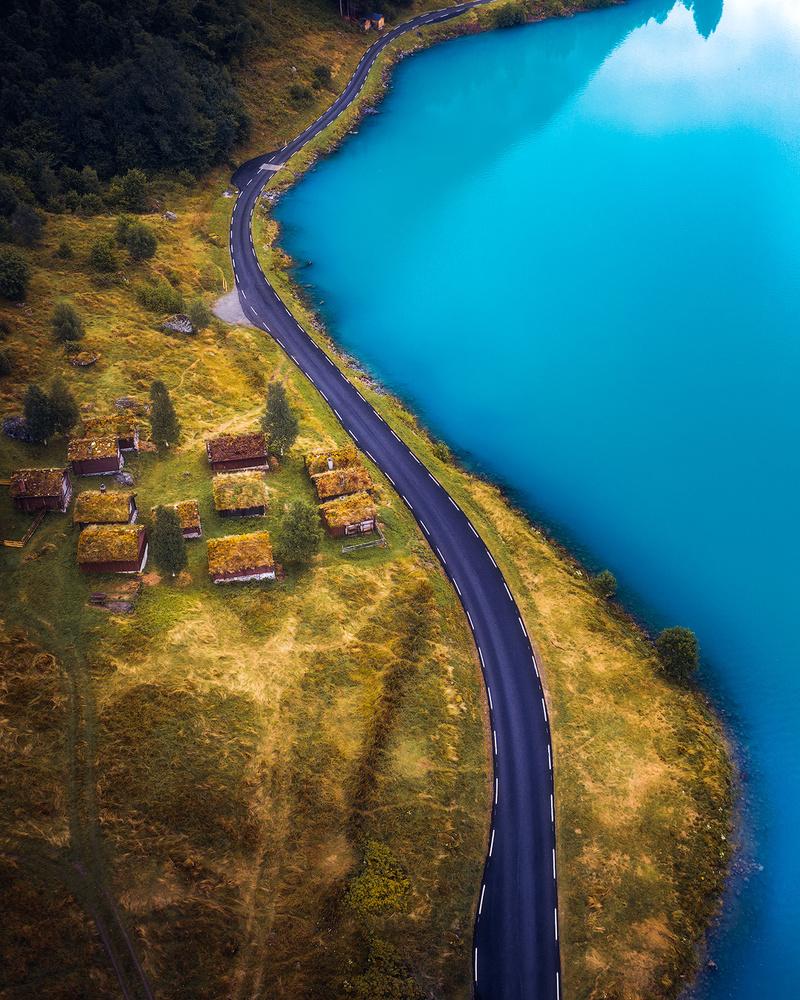 Roadside views in Norway by Fredrik Strømme