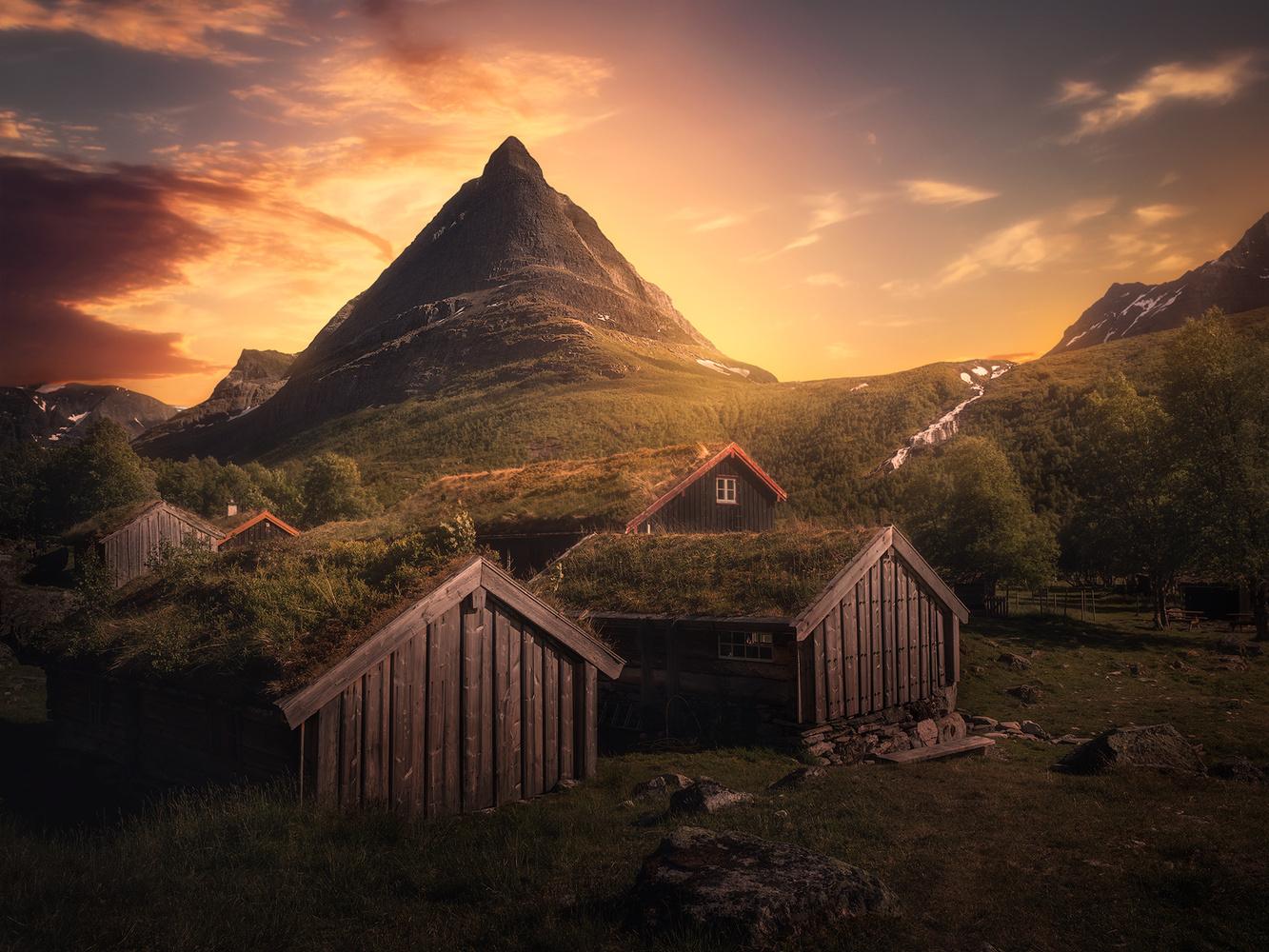 Summer in Innerdalen by Fredrik Strømme