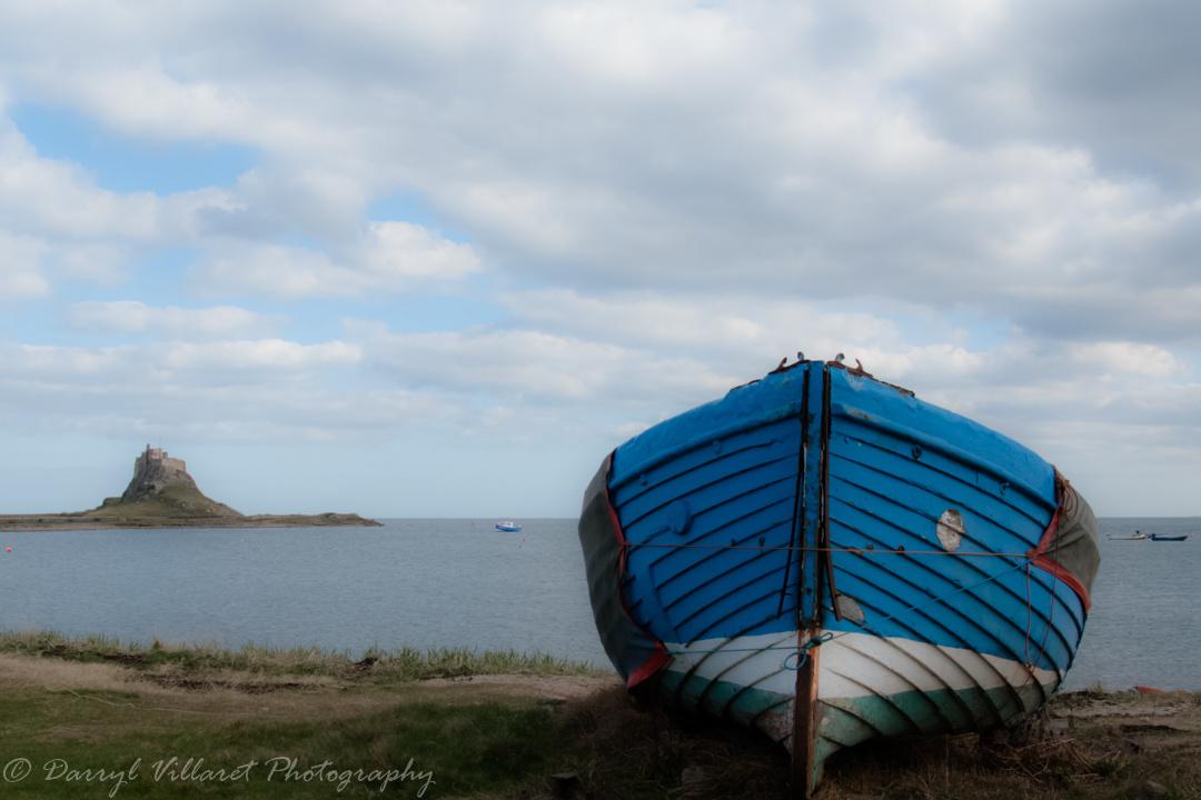 Holy island cobble by Darryl Villaret