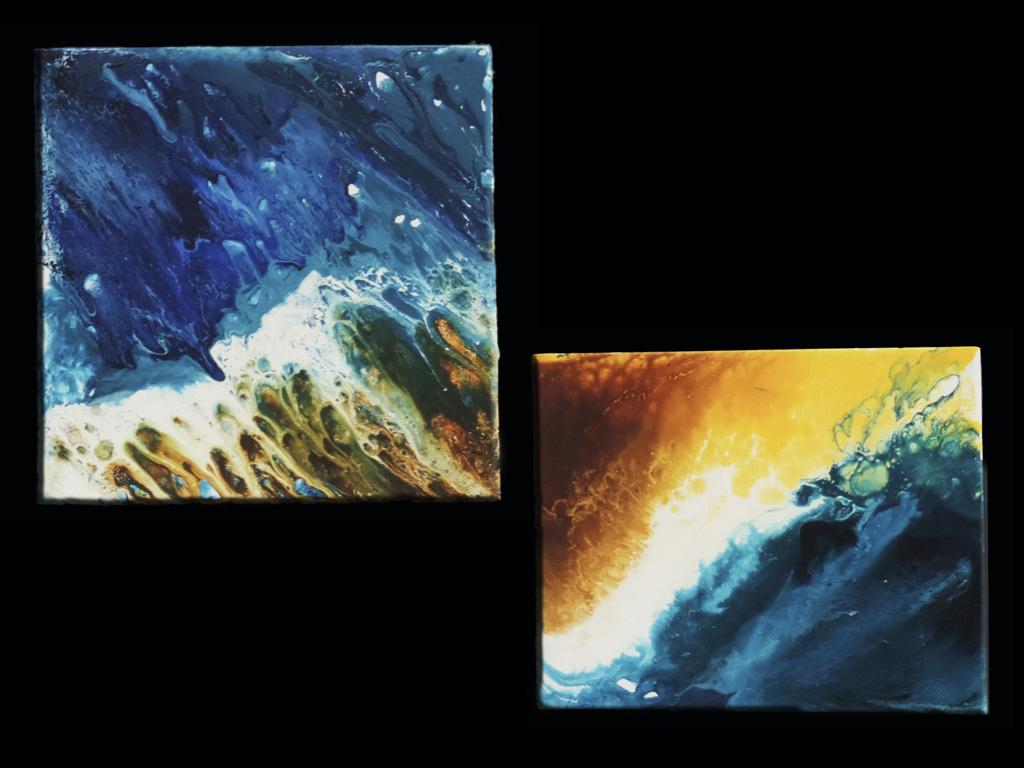 The Blue Klein Sea by Sirio Berati by Sirio Berati