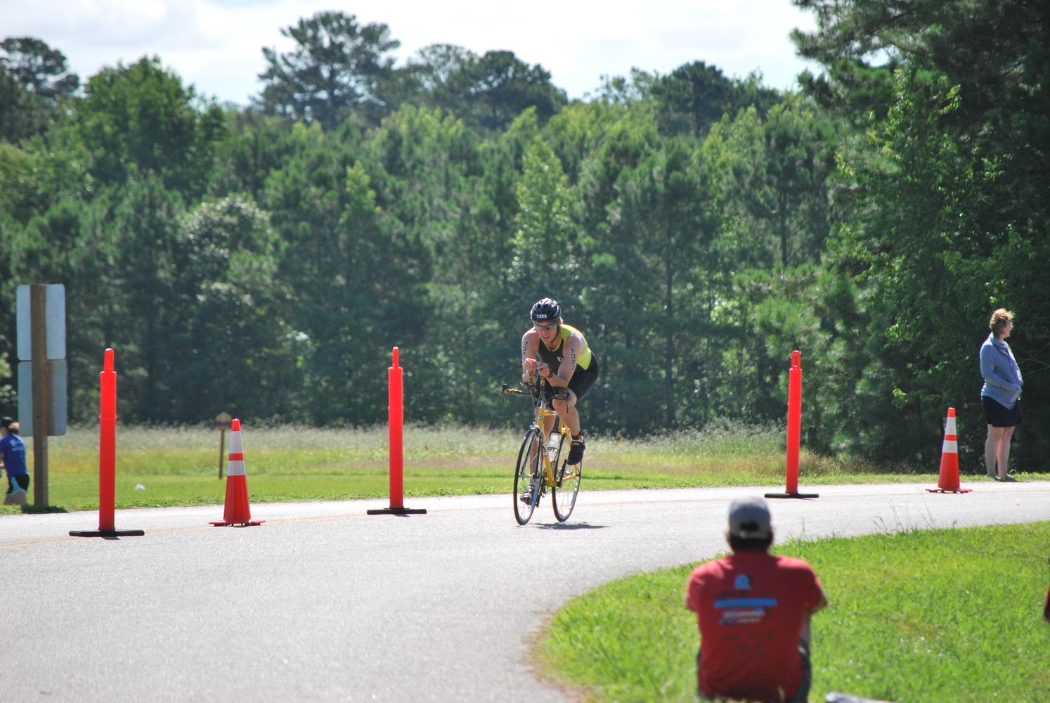 Williamsburg Triathlon - Bicycling by Benny Mouton