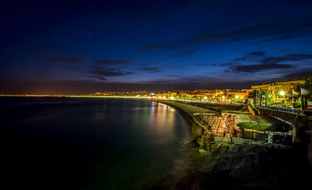 Night in Nice by Liam Hammersley