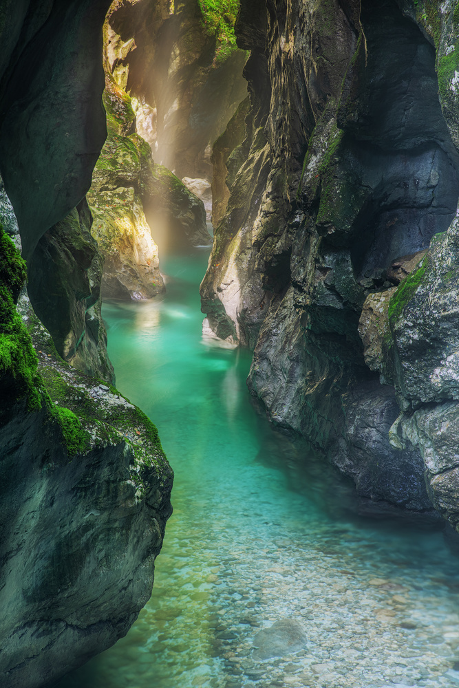 Tolmin Gorges by Tadej Žlahtič