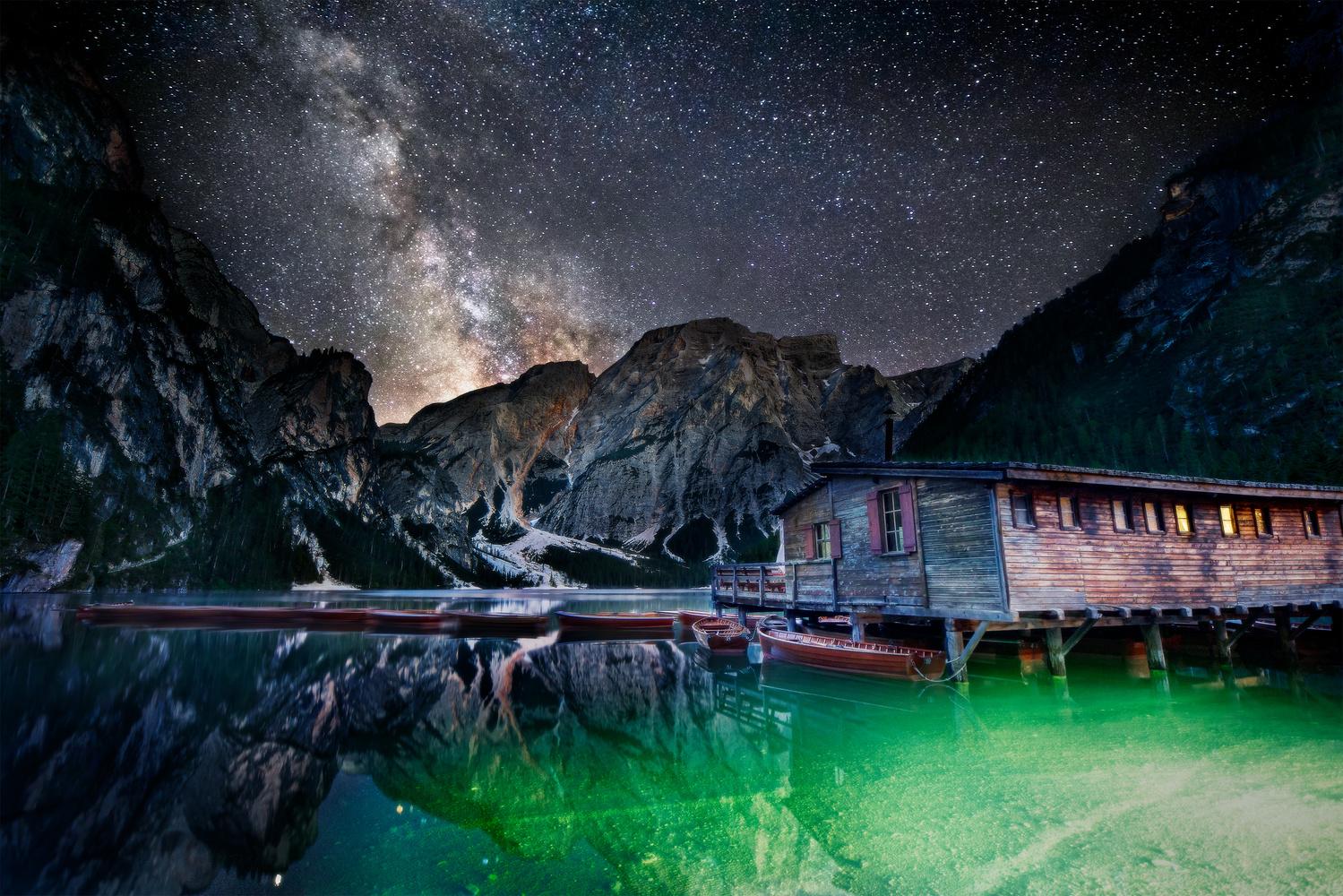 Under the stars by Tadej Žlahtič
