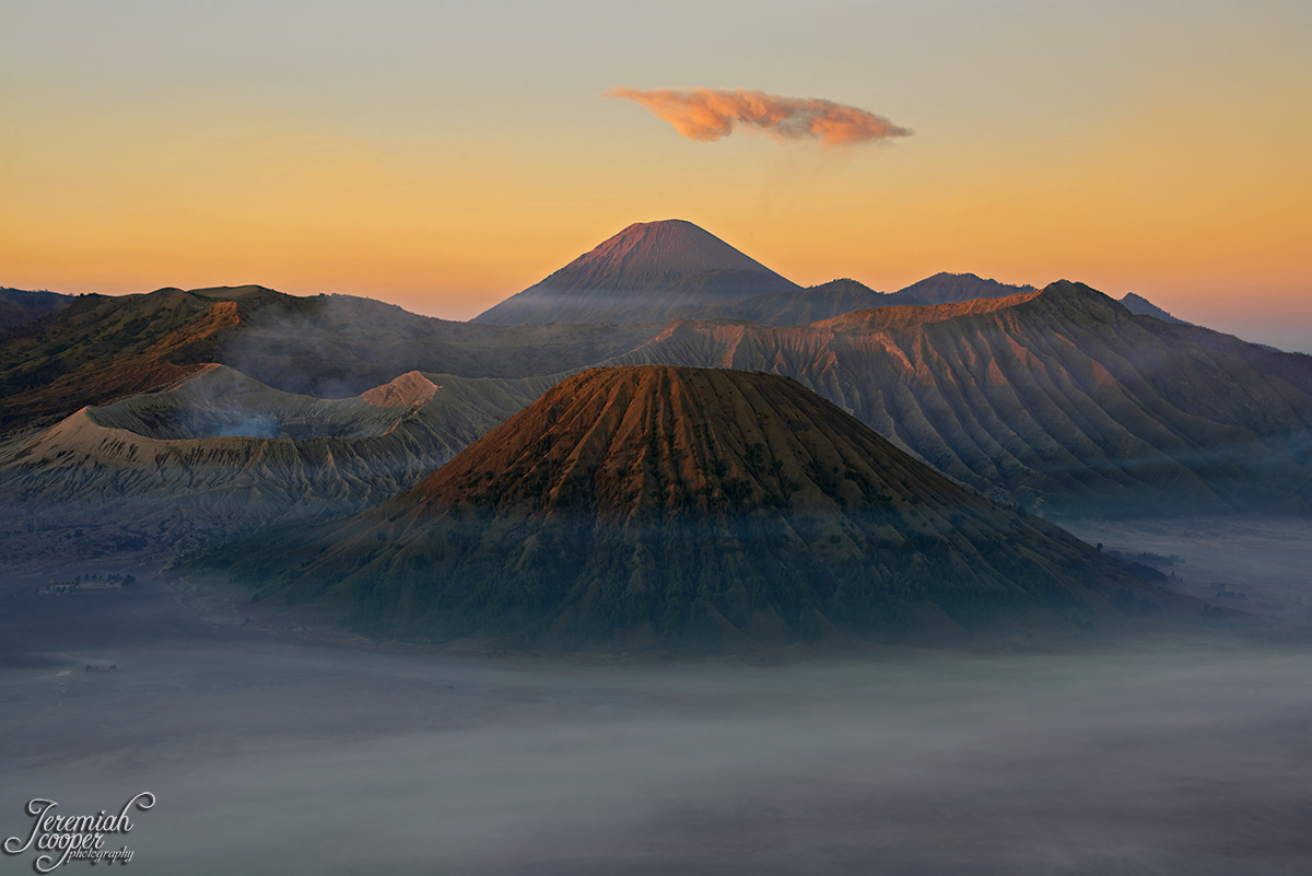 Sunrise over Mt. Bromo by Jeremiah Cooper
