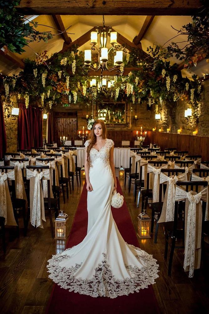 Bridal portrait by Erika Tanith