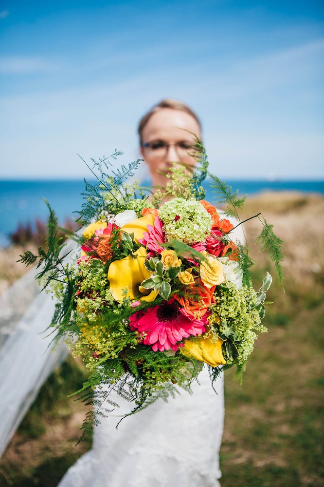 wedding bouquet by Erika Tanith