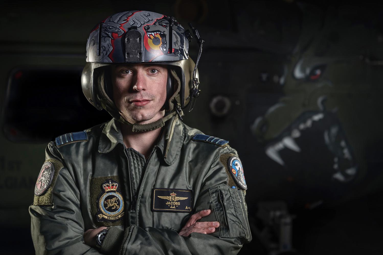 Belgian Air Force demonstration pilot by Jeroen van Veenendaal