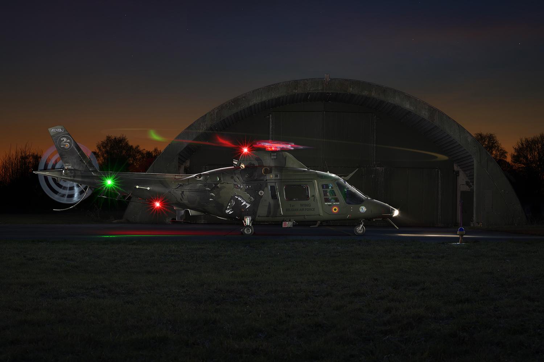Special paint helicopter by Jeroen van Veenendaal