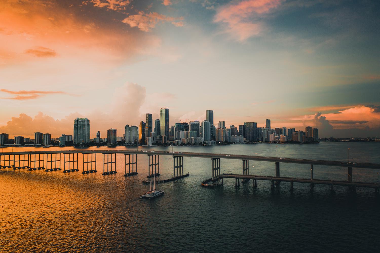 Miami Florida by Carlos Mitchell