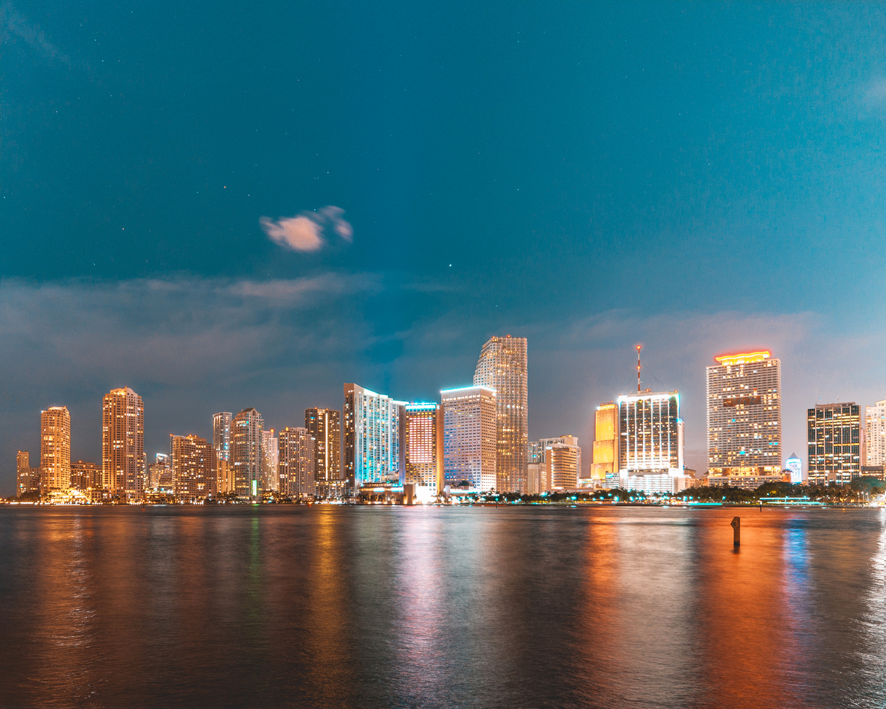 Downtown Miami by Carlos Mitchell