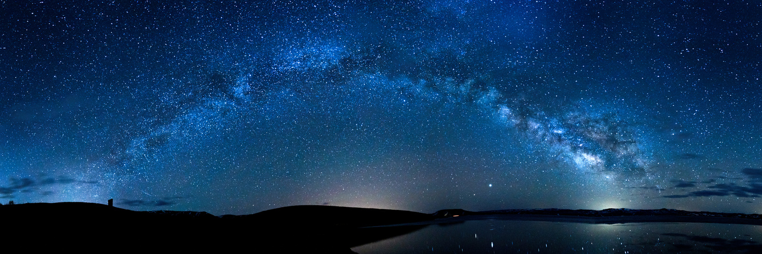 Milky Way Panorama by Kenneth Muhlestein