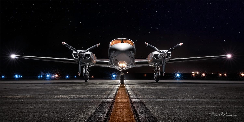 Night Flight by Dan McClanahan
