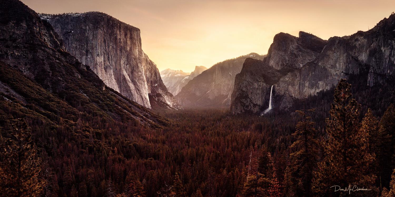 Sunrise at Yosemite Valley by Dan McClanahan