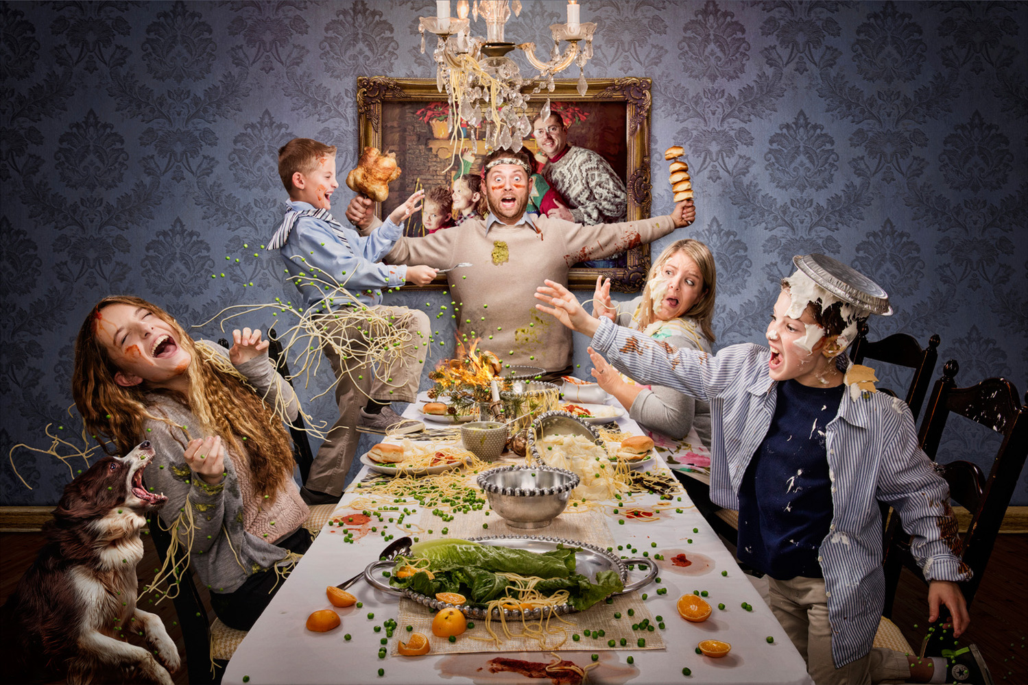 Friday Night Food Fight by Dan McClanahan
