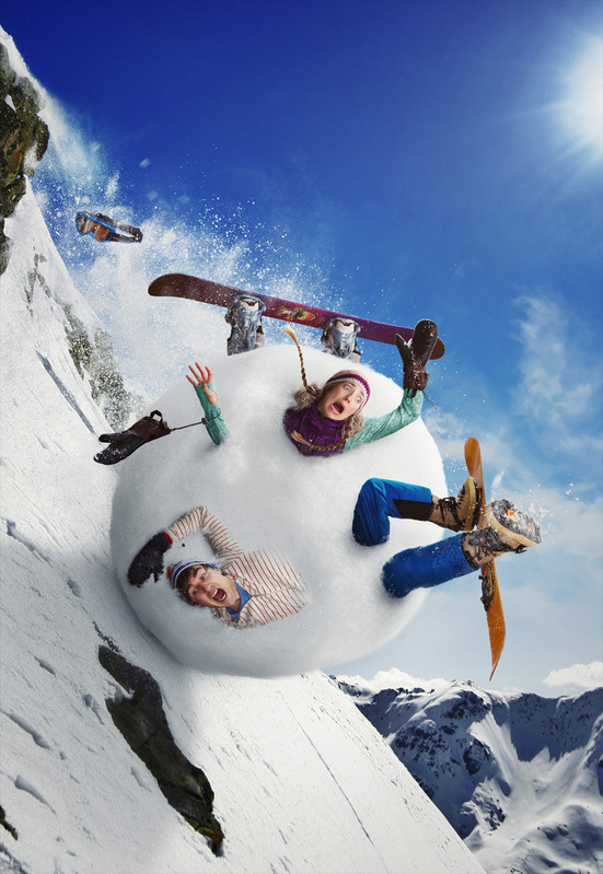 Downhill Snowballing by Dan McClanahan